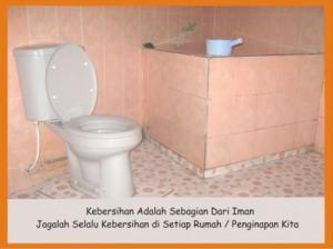 Salah satu contoh Bathroom (ini di Type G)