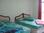 TYPE G (ATAS) Terdiri dari 2 kamar tidur BED CUKUP BESAR 3 BED, 1 KAMAR TIDUR KECIL/SINGLE, 1 kamar mandi, TV,dapur,ruang tamu