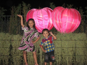 With love 'Lampion Garden' di BNS