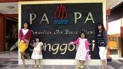 pengunjung dari  Papua bermalam di Villa Nova